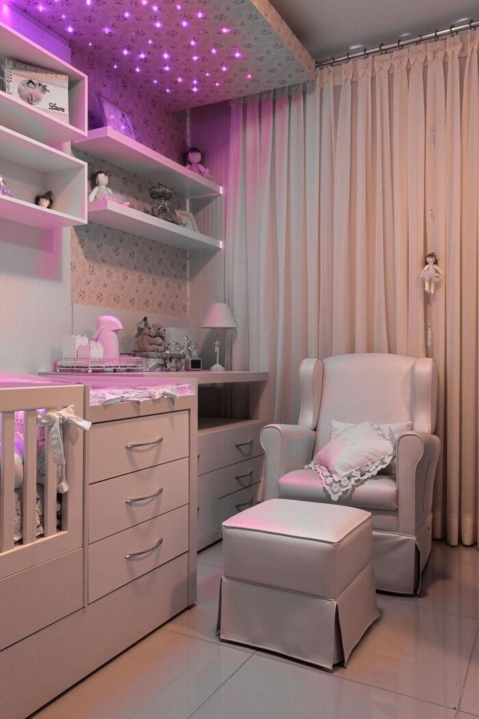 Pink and bright bedroom